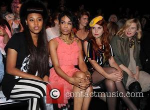 VV Brown, Michelle Williams, Paloma Faith and Roisin Murphy 25th anniversary London Fashion Week Spring/Summer 2010 - Ashish show -...