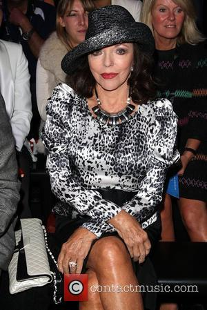 Joan Collins 25th anniversary London Fashion Week Spring/Summer 2010 Caroline Charles - Front Row held at Somerset House London, England...