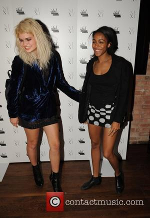 Pixie Geldof and Remi Nicole 25th anniversary London Fashion Week Spring/Summer 2010 - Next Models and Icon Party London, England...