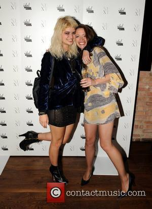 Pixie Geldof and Sarah Leon 25th anniversary London Fashion Week Spring/Summer 2010 - Next Models and Icon Party London, England...