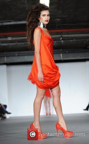 Alice Dellal  25th anniversary London Fashion Week Spring/Summer 2010 - Pam Hogg - Catwalk