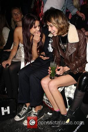 Peaches Geldof and Alexa Chung