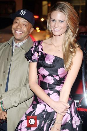 Russell Simmons and Jill Henderson