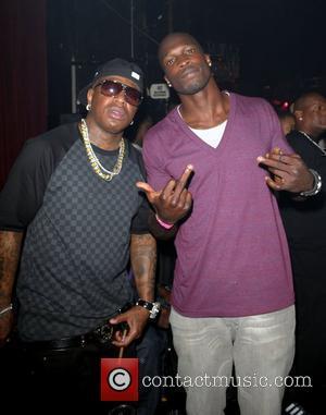 Birdman and Chad Ochocinco Lil' Kim's birthday celebration at Mansion nightclub Miami Beach, Florida - 23.07.09