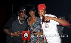 Birdman, Lashune and KD Lil' Kim's birthday celebration at Mansion nightclub Miami Beach, Florida - 23.07.09