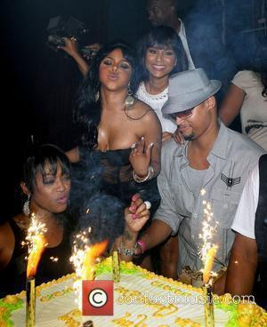 Trina, Lil' Kim and LisaRaye Lil' Kim's birthday celebration at Mansion nightclub Miami Beach, Florida - 23.07.09