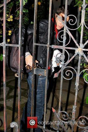 Samantha Ronson  arriving at her residence after leaving Villa nightclub with Lindsay Lohan Los Angeles, California - 11.06.09