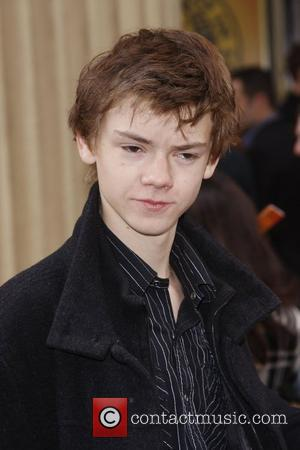 Thomas Sangster Disney's 'Lion King' 10th anniversary at the Lyceum Theatre - Arrivals London, England - 18.10.09