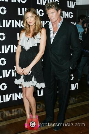 Lisa Snowdon, David Hasselhoff and Somerset House