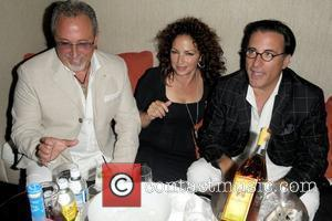 Emilio Estefan, Gloria Estefan and Andy Garcia attend a party in honour of Pulitzer Prize winning author Liz Balmaseda at...