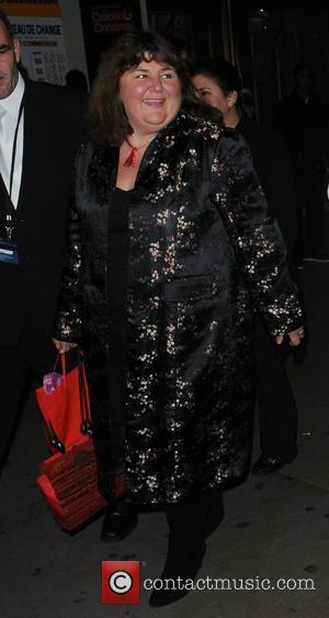Cheryl Fergison attend a party to celebrate ten years of the television programme Loose Women at Cafe de Paris -...