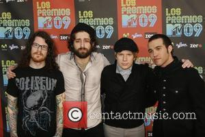 Andy Hurley, Fall Out Boy, MTV, Patrick Stump and PETE WENTZ