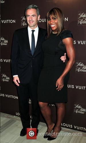 President and Serena Williams