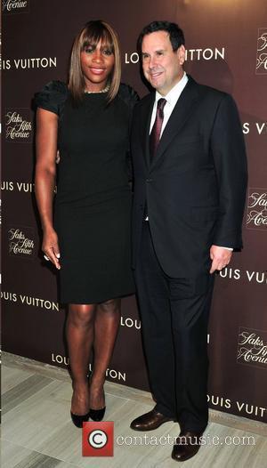 Serena Williams and Steve Sadove