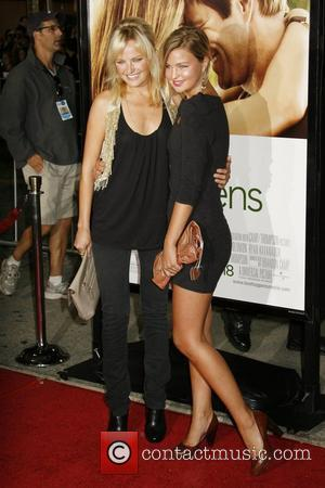 Malin Akerman and sister Jennifer Akerman Los Angeles premiere of 'Love Happens' at Mann's Village Theater Los Angeles, California -...