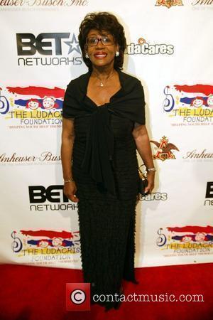 Congresswoman Maxine Waters and Ludacris