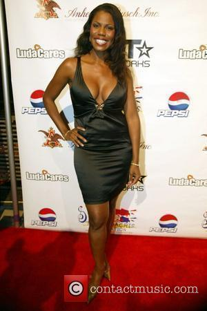 Omarosa Manigault-Stallworth arrive at The Ludacris Foundation 6th Annual Benefit Dinner in the Ronald Reagan Building Washington DC, USA -...