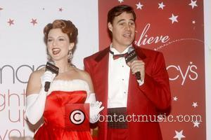 Melissa Errico and James Clow From The Broadway Musical 'white Christmas'