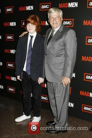 Robert Morse and Charlie Morse AMC Host The Premiere of 'Mad Men' Season 3 held at Director's Guild of America...