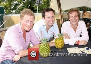 Guy Pelly, Dave Clark and friend Mahiki at the Henley Regatta Henley-on-Thames, England - 03.07.09