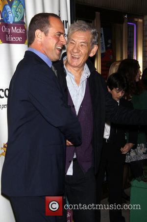 Christopher Meloni and Sir Ian Mckellen