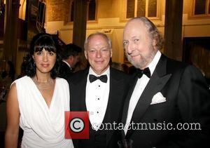 Polly Samson, David Gilmour, Ed Viktor Man Booker Prize 2009 held at the Guildhall London, England - 06.10.09