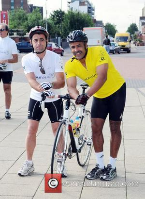Michael Le Vell and Daily Thompsontake part in the Manchester to London bike ride to highlight the solutions sport can...