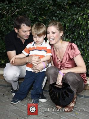 Julie Bowen,son Oliver McLanahan Phillips and husband Scott Phillips  March of Dimes 4th Annual Celebration of Babies at The...