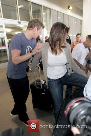 Mariska Hargitay 'Law & Order: Special Victims Unit' star arriving at LAX Los Angeles, California - 18.09.09