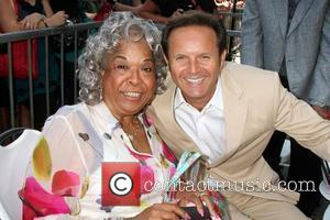 Della Reese and Mark Burnett Hollywood television producer Mark Burnett honored with the 2387th star on the Hollywood Walk of...