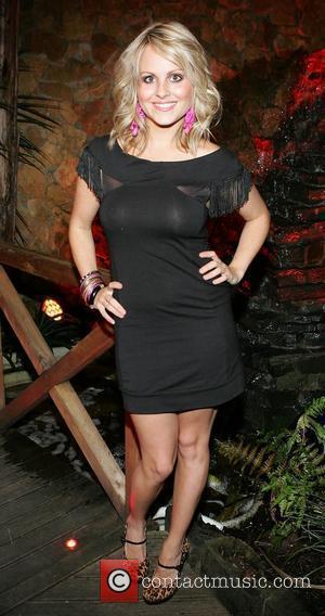 Tina O'Brien enjoying a night out at Harvey's Bar. Waterford, Ireland - 29.08.09