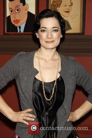 Laura Michelle Kelly and Mary Poppins