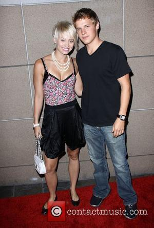Kimberly Wyatt of The Pussycat Dolls and Kevin Schmidt 3rd Annual Matt Leinart Foundation Bowling Night Benefit held at Lucky...