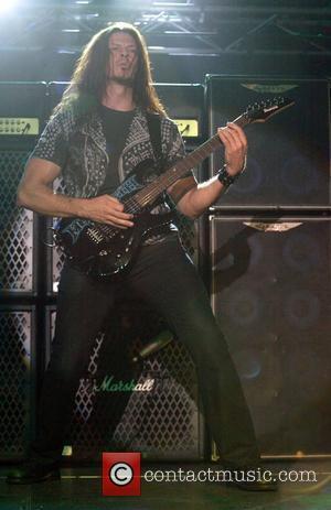 Chris Broderick Megadeth performing live in concert at the Hordern Pavilion. Sydney, Australia - 08.10.09