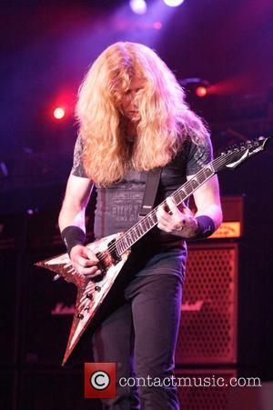Dave Mustaine Megadeth performing live in concert at the Hordern Pavilion. Sydney, Australia - 08.10.09