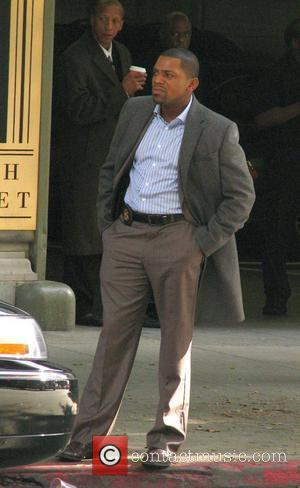 Mekhi Phifer filming a scene for the show 'Lie To Me' Los Angeles, California - 09.11.09