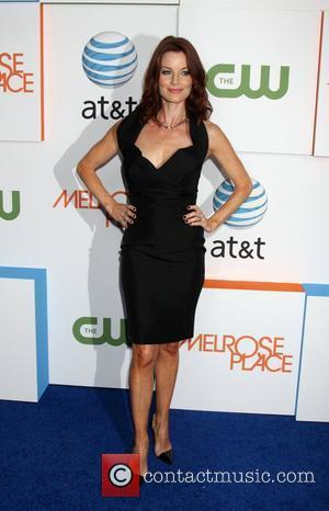 Laura Leighton The CW and AT&T's 'Melrose Place' Launch Party held on Melrose Place and Melrose Avenue Los Angeles, California...