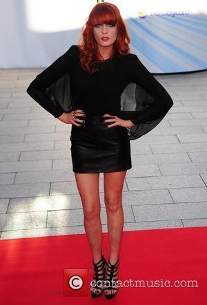 Florence Welch of Florence and the Machine  at the Mercury Music Awards at The Grosvenor House Hotel. London, England...