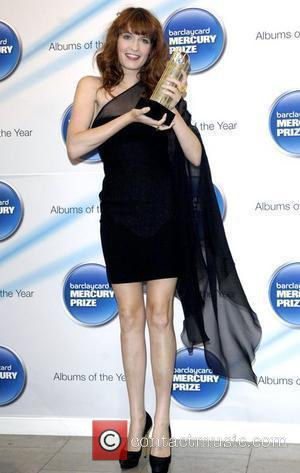 Florence Welch from Florence and the Machine 2009 Barclaycard Mercury Prize at The Hospital London, England - 21.07.09
