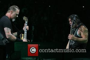 James Hetfield And Hammett In Tears Over Reed Song