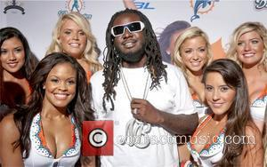 T-pain and The Miami Dolphins Cheerleaders