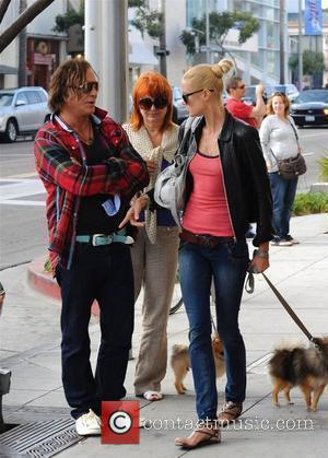Mickey Rourke out and about with friends Los Angeles, California - 07.11.09