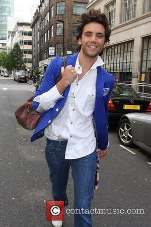 Mika leaving the BBC Radio One studios London, England - 20.07.09