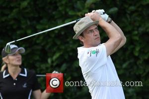 Gabby Logan and Dougray Scott The Mini Master in aid of Leuka hosted by Dougray Scott held at Duke's Meadow...