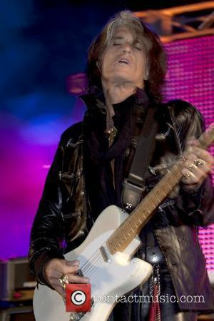 Joe Perry The 20th Anniversary of The Mirage at the Bare Pool Lounge Las Vegas, Nevada - 02.10.09