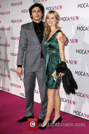 James Franco and Ahna O'reilly
