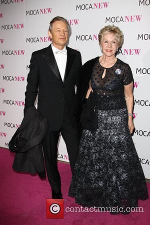 Michael York and wife MOCA New 30th Anniversary Gala - arrivals Los Angeles, California - 14.11.09