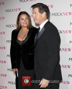 Pierce Brosnan and Keely Shaye Smith MOCA New 30th Anniversary Gala - arrivals Los Angeles, California - 14.11.09
