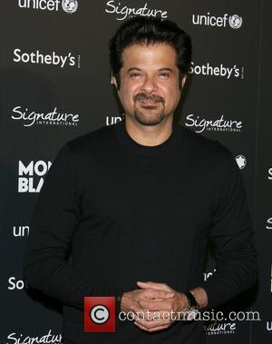 Anil Kapoor Montblanc hosts a Charity Auction Gala To Benefit Unicef at the Beverly Wilshire Four Seasons Hotel Los Angeles,...
