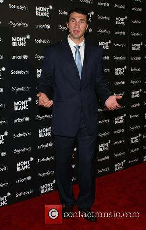 Wladimir Klitschko Montblanc hosts a Charity Auction Gala To Benefit Unicef at the Beverly Wilshire Four Seasons Hotel Los Angeles,...